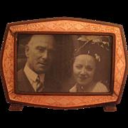 Miniature Vintage Enamel Frame