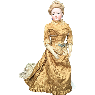 Wonderful FG doll great size of 24,5 inches tall