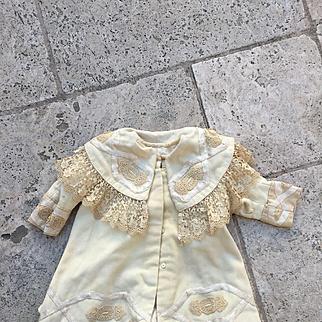 Wonderful antique coat for big jumeau