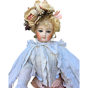 Wonderful lily fashion French bisque doll 17 inches