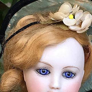 Wonderful French fashion doll wood body 15 inches tall