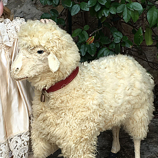 Rare Antique french sheep 1880 years