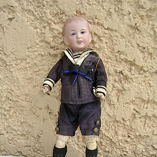 Nice sfbj 227 french baby doll 13,6 inches tall