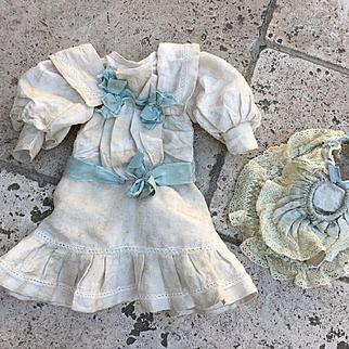 Rare Antique Outfit For jumeau Size 8