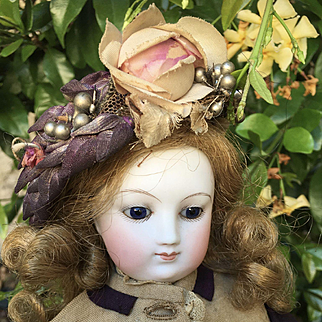 Wonderfully French fashion bisque doll wood body 18 inched