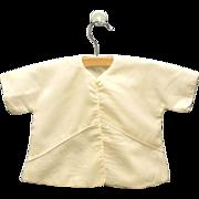 Vintage Lovely 1950s Saks Fifth Avenue Cream Wool Baby Crib Coat