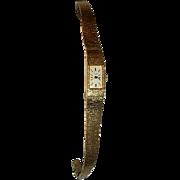 Watch -Women's Gold 18K Bracelet  Circa 1969
