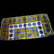 Scarf-Vera Purple Circles