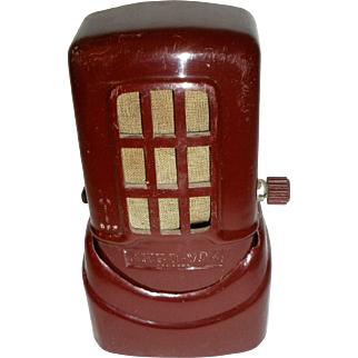 Micro-Vox MV-200 Cranberry Plaskon Microphone