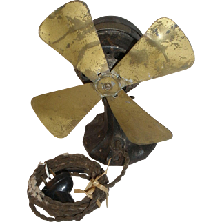 Polar Cub 1921 Brass & cast Iron Fan