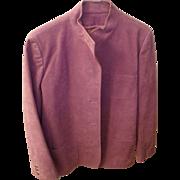 Ultra Suede Lavender Jacket