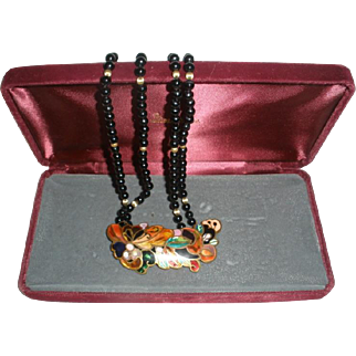 Cloisonne Necklace by Daniel Kao