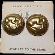 Joseff Capricorn Zodiac Earrings