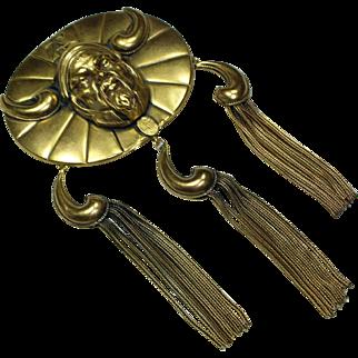 Joseff Large Genghis Khan Pin