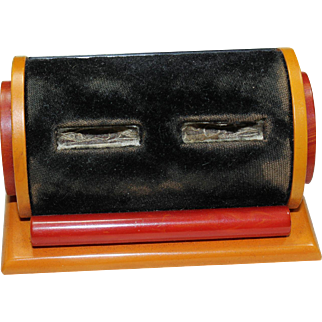 Vintage Bakelite Ring Box
