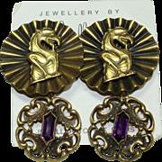 Joseff Gargoyle Earrings