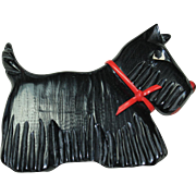 Vintage Plastic Scottie Pin