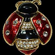 Vintage Ladybug Pin