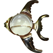 Vintage Jelly-Belly Fish Pin