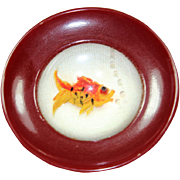 Vintage Plastic Fishbowl Pin
