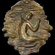 Vintage Small Mermaid Pin