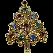 Vintage Eisenberg Christmas Tree Pin