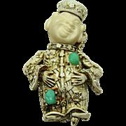 Vintage HAR Buddha Pin