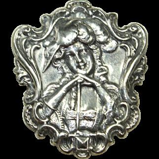 Vintage Woman Pin