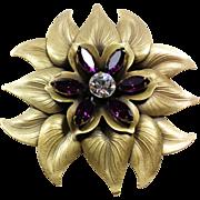 Purple Calla Lilly Joseff Pin