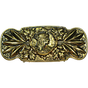 Vintage Lady Belt Buckle