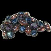 Vintage Schiaparelli Purple Pin