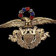 Joseff American Eagle Pin
