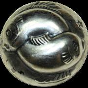 Joseff Zodiac Pisces Silver-Plated Pin