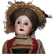 """8"""" Armand Marseille 390 German Doll with her Pet Dog"""