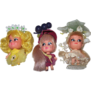 Lolli Lemon, Greta Grape and Lily of the Valley Kiddle Dolls!