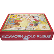 German Wooden Block Puzzle is 6 Puzzles in 1!