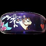 Vintage Looney Tunes Taz Bracelet