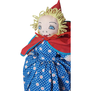 Topsy Turvey Doll - Little Red Riding Hood!