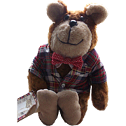 "1981 Official ""Preppy Teddy Bear"""