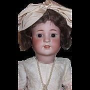 "23"" Antique Bisque Simon & Halbig 550 Doll"