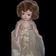 1950's Madame Alexander Binnie Walker in Beautiful Dress!