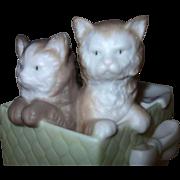 Golden Memories by Lladro Daisa Kittens Figurine Hand Made in Spain