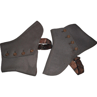 A Pair of 1920's Spats!