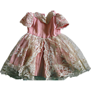Very Old Beautiful Doll Dress!