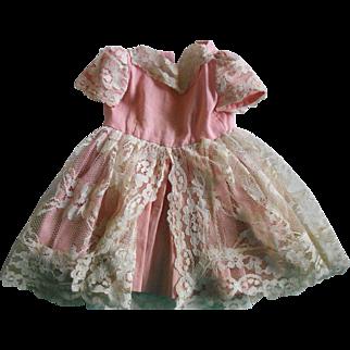 Very Old Beautiful Doll Dress!