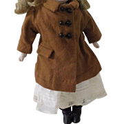 "Coat for a 15-16"" Doll"