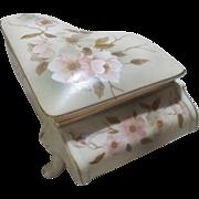 Hummelwerk Victorian Garden Piano Musical Trinket Box