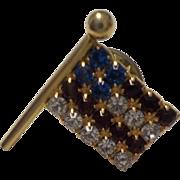 Vintage Patriotic Flag Pin