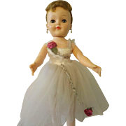 Vintage 1950's Effanbee Honey Ballerina- All Original