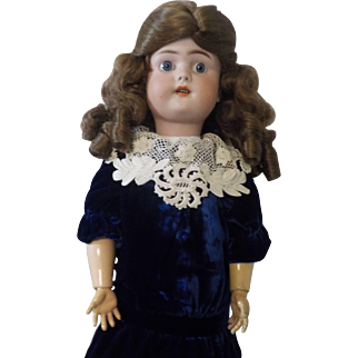 "22""  German Bisque Simon & Halbig GB Doll"